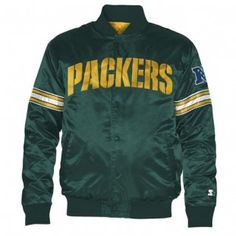 Green Bay Packers NFL Starter Jacket (Green)