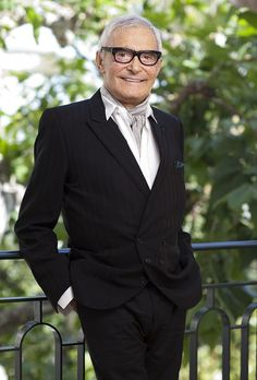 """Vidal Sassoon, hairstylist, most famous for creating """"the bob"""" style."""