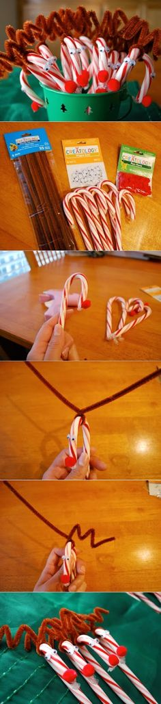 Rudolph Candy Canes