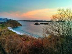 Playa Prieta is a hidden beach formed by a 500m bay.  It's secluded and beautiful, with biggish waves crashing close to the shore.