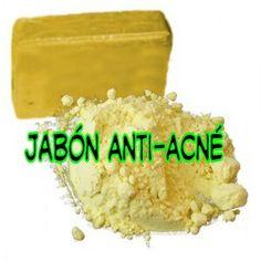 Hacer Jabón Anti-Acne. Os dejamos la receta de cómo hacer jabón anti acné. Es una receta sencilla y económica que solucionará el problema a más de uno. Además, al ser un formato tan cómodo como un jabón no podremos poner ninguna excusa para no utilizarlo.
