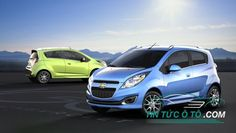 Chevrolet Spark 2017 mới giá từ 200 triệu cạnh tranh Hyundai i10