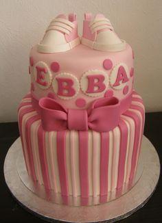 Christening cake - Sockersöta Ninni