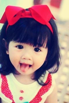 ADORABLE. I want an Asian child so bad!!