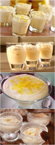 MOUSSE SUPER FÁCIL DE LIMÃO SICILIANO É TUDO DE BOM!! VEJA AQUI>>>No liquidificador, bata o leite condensado e o creme de leite sem soro durante 3 minutos. Sem parar de bater, acrescente o suco de limão siciliano, aos poucos.
