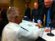M. Belem, Alan Stern & Neil Armstrong @NSRC