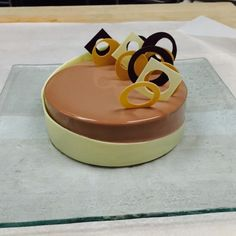 Opalys Coffee and Hazelnut Entremet for a special Guest @stregisbalharbour #bachour #valrhona | by Pastry Chef Antonio Bachour