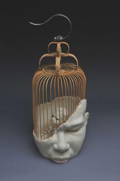 Johnson Tsang, Arte Peculiar, Weird Art, Art Plastique, Surreal Art, Art Sketchbook, Clay Art, Installation Art, Ceramic Art