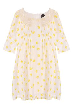 Sauce eshop, shopatsauce.com, Yellow Doll Collar Dress