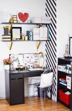 beautiful desk space