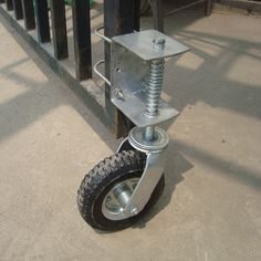 Gate Wheel with Suspension — Capacity, Pneumatic Tire, Model# Portão de correr roda