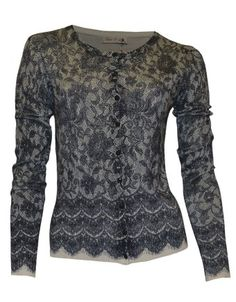 Lacey Knit Cardi by Moss & Spy