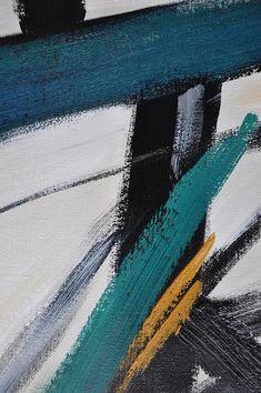 CZ ART DESIGN - Closeup. Set of 2 Contemporary Painting on canvas #S166, original fine art, pair painting.
