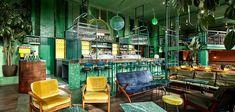 Bar Botanique propone un nuevo concepto moderno en Ámsterdam.