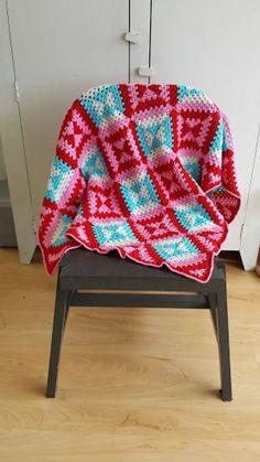 Patroon deken online / pattern blanket online