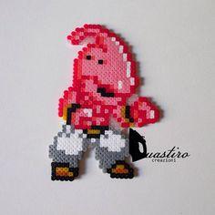 MajinBu Dragon Ball perler beads by duastiro_creazioni