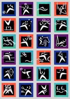 2000 Sydney Olympic Games Pictograms
