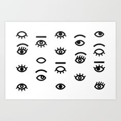 eyes II Art Print