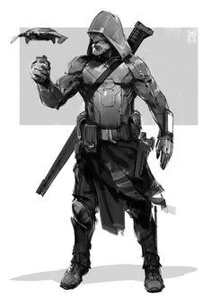 New Science Fiction Soldier Bounty Hunter Ideas Star Citizen, Character Concept, Character Art, Edge Of The Empire, Arte Cyberpunk, Cyberpunk Fashion, Futuristic Armour, Futuristic Art, Sci Fi Armor