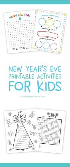 8 Fun New Years Eve Ideas For Families To Start The Year With A Bang Kindergarten ActivitiesEducational ActivitiesActivities KidsLearning
