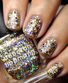 Glitter And Be Gay VIA http://www.polishpolice.com/tag/deborah-lippmann-jewel-heist/