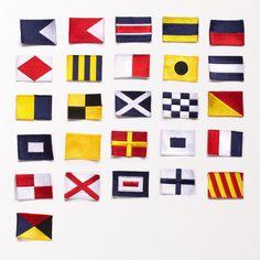 Nautical Badges (set of 26), Best Made Company.