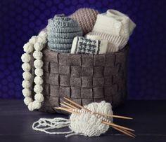 Tee itse punottu huopakori – Kotiliesi