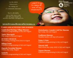 Children's summer camps and activities