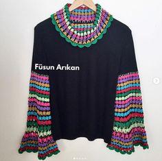 Crochet Jacket, Men Sweater, Sweaters, Handmade, Jackets, Anne, Youtube, Instagram, Crafts