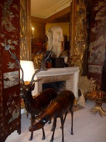 Coco Chanel entertained in these rooms above her atelier, now the famous boutique off rue St Honore. I've had the incredible privilege to v...