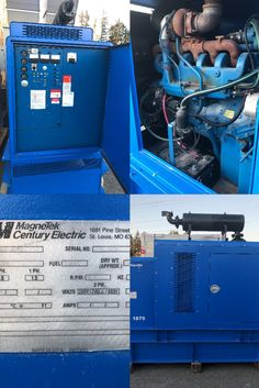 FOR SALE - Magnatek Diesel Generator ONLY $15995.00 Ready to Ship - Located at our shop in Abbotsford, BC. Freight and Taxes extra  Please contact us for more information 1-604-791-1815 or email info@primapowersys.com  #generatorsales #gensets #generatorsuppliers #preownedgenerators #dieselgenerators #qualitygenerators Commercial Generators, Generators For Sale, Abbotsford Bc, Equipment For Sale, St Louis, Diesel, Ship, Ships