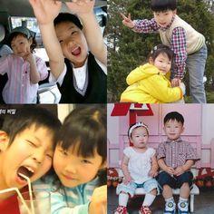 adorable childhood photos <3 Akdong musician Aesthetic Photo, Kpop Aesthetic, Kpop Memes, Funny Memes, K Pop, Lee Chan Hyuk, Lee Soo Hyun, Akdong Musician, Winner Ikon