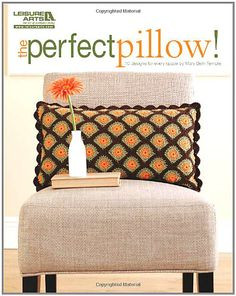 This booklet is a collection of 10 stylish crochet pillows by Mary Beth Temple. The designs offer plenty of variety. Go for bold color or original texture. Try a lacy, vintage bolster or add buttons to a two-toned, contemporary look. Mary Beth shares her insights and inspirations on how she created each of the designs, and provides clear instructions so you can finish these fun projects beautifully. 10 pillows to crochet: 9 in light or medium weight yarns (Loop-De-Loop, Fresh Idea, Art Deco…