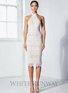 Jagged 3/4 Dress by Winona