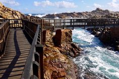 Holzsteg zur Brücke - Canal Rocks - Yallingup, Margaret River Region - Western Australia