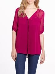 3/4 Sleeve Blouse   Women   Shop Online at Reitmans Online Shopping For Women, Blouses For Women, Peplum, Tunic Tops, Jeans, Sleeves, Style, Fashion, Cards