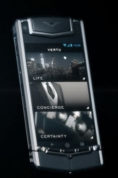 Vertu Unveils Luxury, Android Smartphone for Just $ 10,000   Screens for Life, Concierge, and Certainty