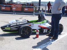 FSAE competition; TU Munich's electric car; set fastest acceleration time of 3.8s