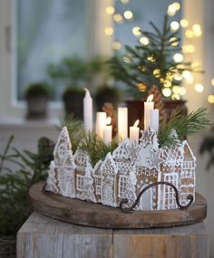 All Things Christmas and Winter Christmas Gingerbread House, Noel Christmas, Winter Christmas, All Things Christmas, Christmas 2019, Christmas Crafts, Swedish Christmas Decorations, Gingerbread Houses, Gingerbread Cookies