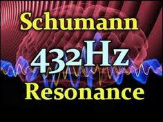 432 hz, profound sound Schumann Resonance  from the sky to deep in the ground this sound is found naturally  all around.