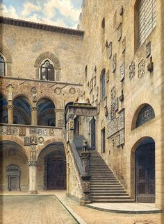 Italy.  Cortile di Palazzo del Bargello, Firenze // Giulia Cecchi