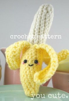 Hey, I found this really awesome Etsy listing at https://www.etsy.com/uk/listing/153526718/crochet-pattern-amigurumi-banana