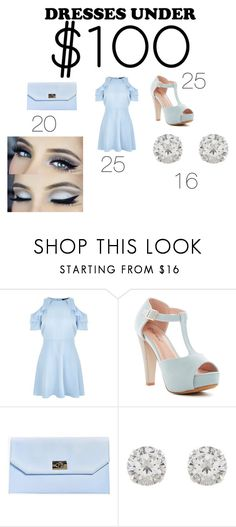 """Pretty Pastels under 100"" by mynameislexi ❤ liked on Polyvore featuring New Look, Top Moda, Boohoo and Accessorize"