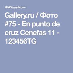 Gallery.ru / Фото #75 - En punto de cruz Cenefas 11 - 123456TG