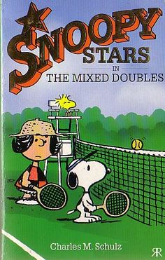 Snoopy Stars As In The Mixed Doubles - Ravette 1989