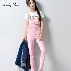 2017 Denim Washed Jumpsuits Women Vaqueros Romper Full Length Pants Jeans Skinny Overalls Suspender Female Slim Catsuit A209
