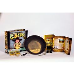 Pan for Gold Science Kit  • Fun, interactive way to learn about the Gold Rush's history and science  • Kit includes activities and scientific facts about the properties of gold