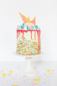 unicorn strawberry cake recipe