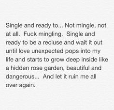 Single and ready to.not mingle - Single Parent Quotes - Ideas of Single Parent Q. - Single and ready to.not mingle – Single Parent Quotes – Ideas of Single Parent Quotes - Single Life Quotes, Single Parent Quotes, Single Life Humor, Single Parenting, Single Quotes Humor, Single Women Quotes, Single Memes, New Quotes, Lyric Quotes