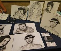 The Vampire Diaries cast as drawingd